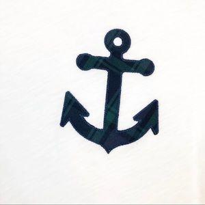 J. Crew Tops - J. Crew nautical Anchor tee shirt